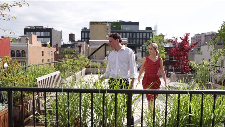 Vincent Verdi and Nathalie Bryant